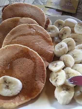 Legumbres Mayas: Vegan banana pancakes!