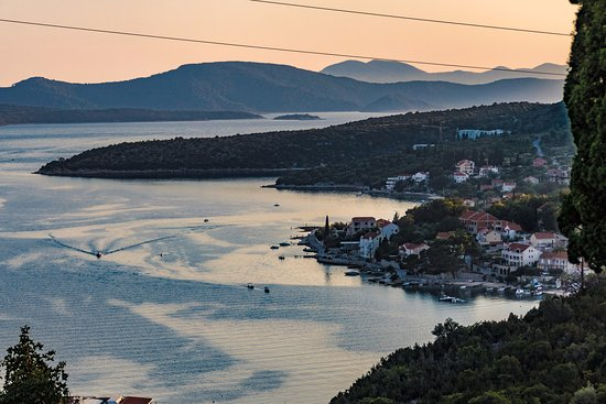 Slano, Croatia: View from Gastro Vista