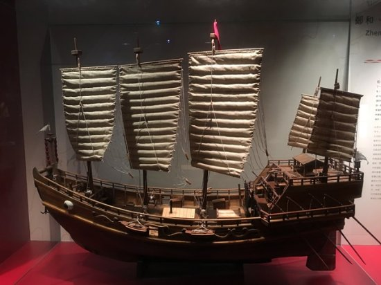 Hong Kong Maritime Museum: One of the many ship models