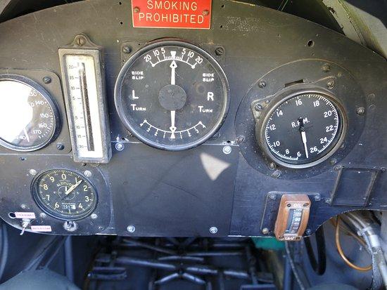 Classic Flights: Instrumente der Tiger Moth