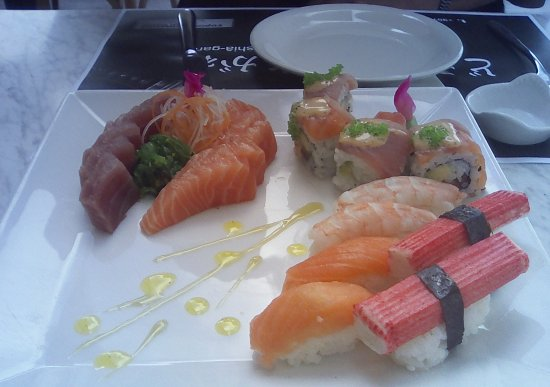 Tuna and Salmon Picture of Plato Sushi Paphos TripAdvisor