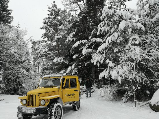 Akhaltsikhe, Γεωργία: Winter in Georgia; With Camptravel