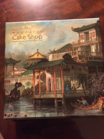 Ein Süßes Geschenk Vom Hotel Zum Abschied Picture Of Mandarin