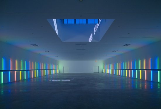 Dan Flavin Installation at Richmond Hall
