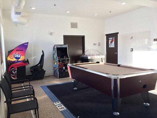 Bonnyville, Canadá: Games Room