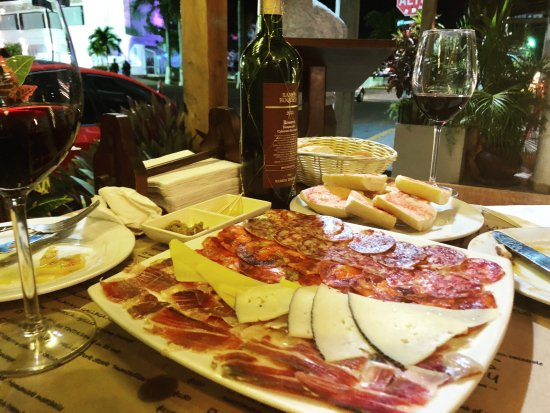 La Pasion Hotel Boutique by Bunik Meat and Cheese Plate at Tapas restuarant located downstairs & Meat and Cheese Plate at Tapas restuarant located downstairs ...