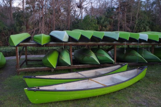 Wekiva Island: Canoe rentals