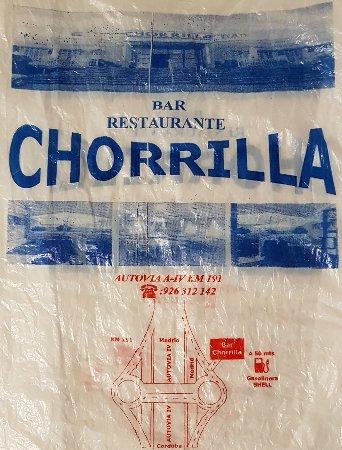 Valdepenas de la Sierra, Spania: Restaurante Chorrilla