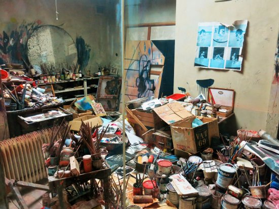 francis bacon 39 s atelier picture of dublin city gallery the hugh lane dublin tripadvisor. Black Bedroom Furniture Sets. Home Design Ideas