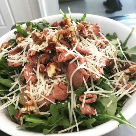 Reidsville, NC: Arugula Salad with Steak