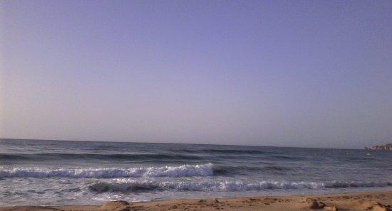 As ondas na Meia Praia Lagos)