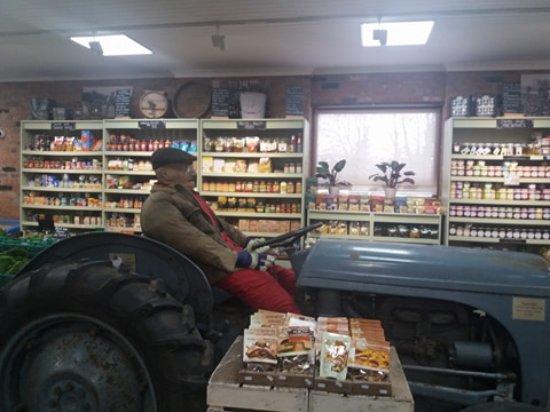 Holt, UK: Inside the shop