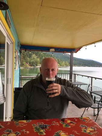 Bigfork, Μοντάνα: Cheers. Sadly the panorama image of the full view of the lake is too large to post on Trip Advis