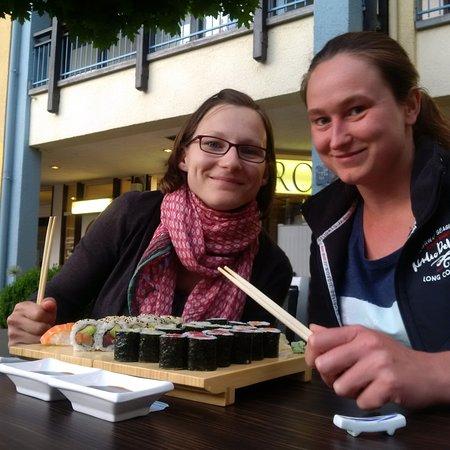 Garching bei Munchen, Germania: Im Sommer kann man super draußen sitzen...