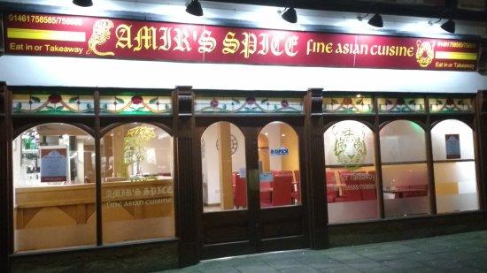 Amir's Spice Restaurant in Annan.