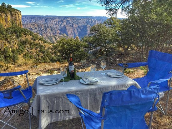 The 3 Amigos: Amigo Trails Perfect Picnic included on our package trips
