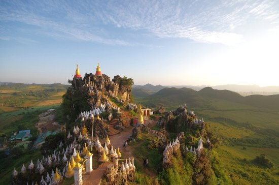 Nyaungshwe, Myanmar: Marvelous view near Ywangan!!