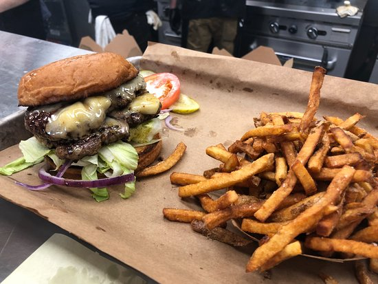 Wentzville, MO: Double Duke Burger and Hand Cut Fries