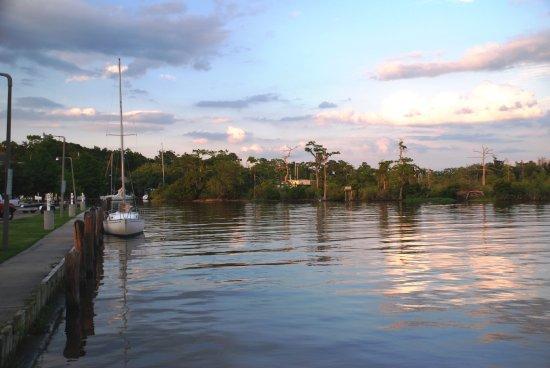 Dusk at Bayou Castine near Mandeville Lakefront.