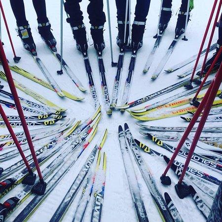 Oro Station, Canada : Ski Fun!