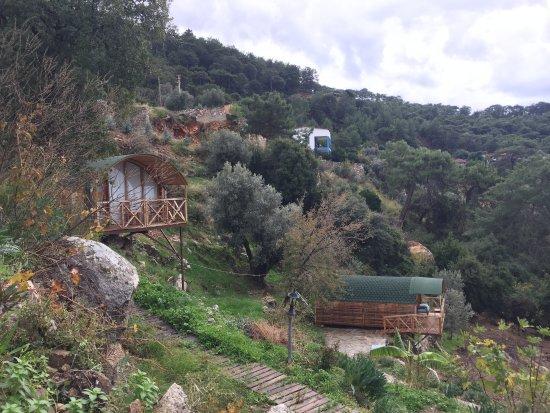 Фаралья, Турция: Seaview Faralya Butik Otel Wooden Cabins