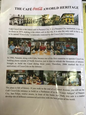 Cafe Coca Cola: Part 1 of the story