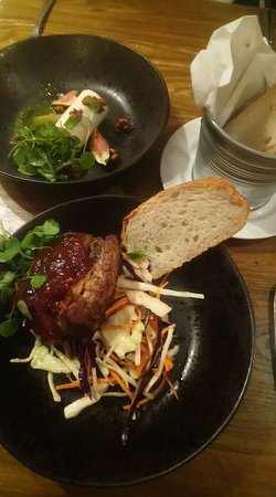 The Wortley Arms: Delicious starters.