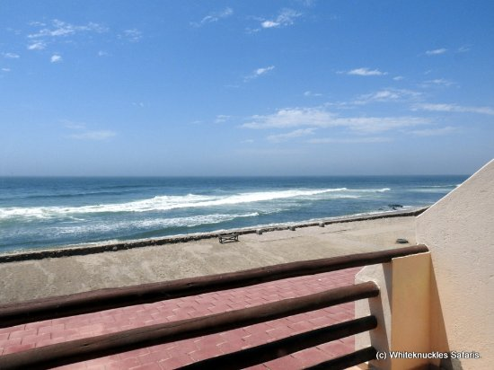 Skeleton Coast Park, Namibia: From the private balcony.