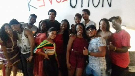 Salsafari: Photo at the end of our tour and Salsa Lesson