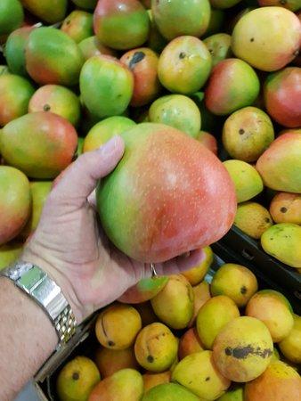 Kewarra Beach, Avustralya: Fantastic choose of locally grown fruits & vegetables. Mangoes were huge and very sweet.