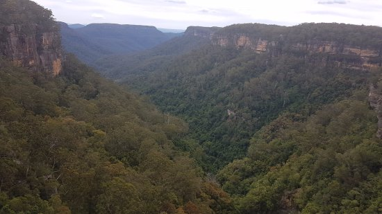 Fitzroy Falls: View from the falls