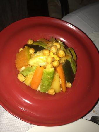 La Villa Blanche: Couscous aux légumes