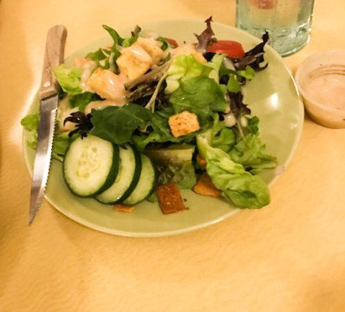 Poulsbo, WA: Dinner salad of fresh vegetables