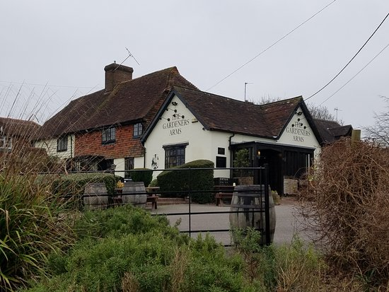 The Gardeners Arms: Outside of Pub