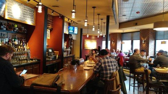 Barre, VT: Bar area