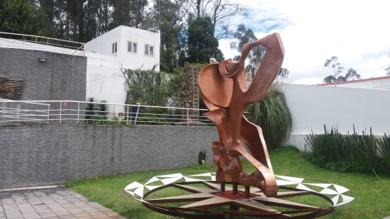 La Capilla Del Hombre: Quito, Ecuador, Capilla del Hombre.