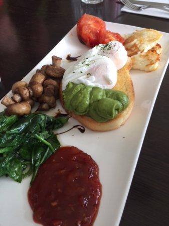 Blackmans Bay, Australia: big veggie breakfast