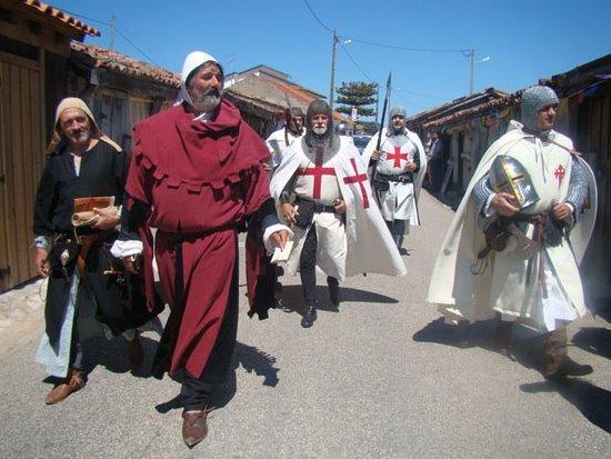 Rio Maior, Portugalia: 4 - As Salinas e os Templários em 1177.