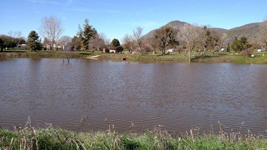 Dunlap, CA: lake