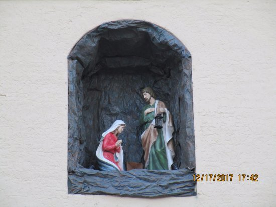 Solvang, Kalifornia: Holy Family at Christmas Time