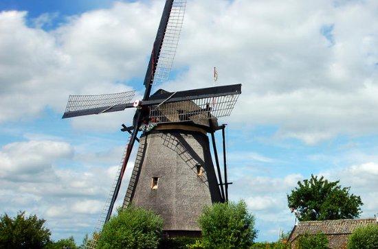 Zaans Schans Windmills, Tulips...