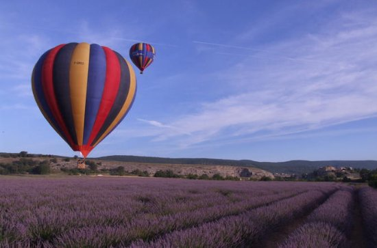 Provence Hot-Air Balloon Ride from...