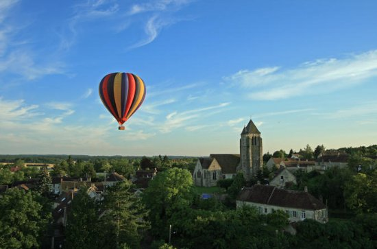 Burgundy Hot-Air Balloon Ride from...