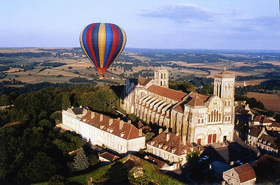 Vezelay, Burgundy Hot-Air Balloon...