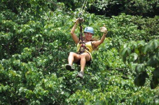 Zipline Canopy Tour at Pura Aventura
