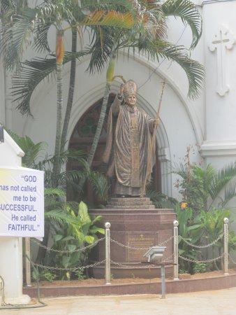 San Thome Church: Св. Фома прощается с нами