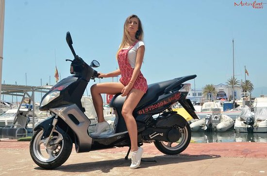 Scooter tour Marbella