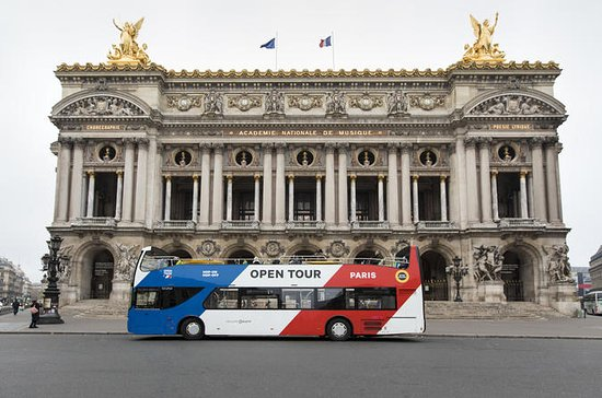 Open Tour Hop-On-Hop-Off & Paris...