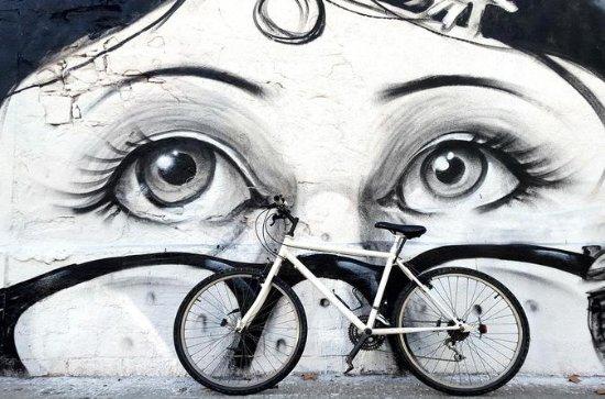 Private Street Art Bike Tour in...