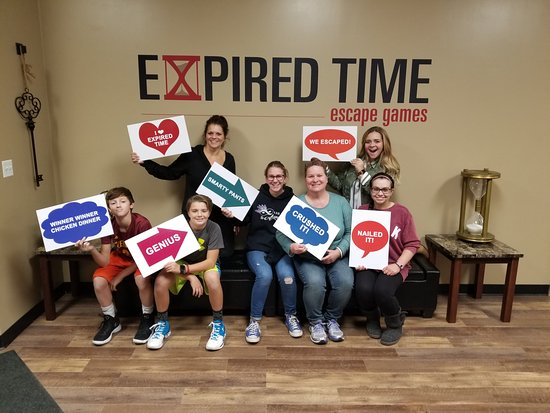 Expired Time Escape Games